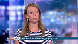 RTL INFO 13H : Canicule : la Belgique placée en vigilance orange
