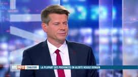 RTL INFO 19H : Canicule : la Belgique placée en vigilance rouge dès samedi