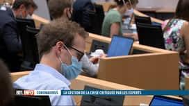 RTL INFO 19H : Coronavirus: la commission spéciale de la Chambre s'est réuni ce ve...