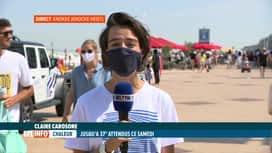 RTL INFO 13H : Les touristes d'un jour ne sont pas les bienvenus à Knokke