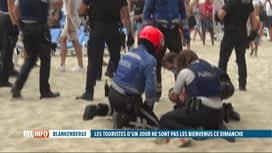 RTL INFO 13H : Violente bagarre sur la plage à Blankenberge