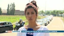RTL INFO 13H : Blankenberge interdit les touristes d'un jour