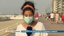 RTL INFO 19H : Blankenberge interdit les touristes d'un jour : les infos en direct