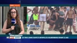 RTL INFO 13H : Bagarre à Blankenberge: 3 jeunes présentés à un juge