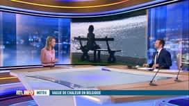RTL INFO 13H : Canicule: la chaleur va encore perdurer plusieurs jours