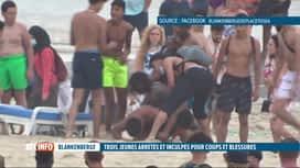 RTL INFO 19H : Bagarre à Blankenberge: mandat d'arrêt décerné à 3 jeunes