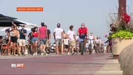 RTL INFO 19H : Knokke-Heist continue d'interdire les touristes d'un jour