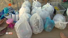 RTL INFO 19H : Des montagnes de déchets abandonnés par les touristes sur les plages