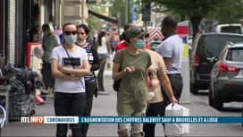 RTL INFO 19H : Le coronavirus touche surtout les villes et les quartiers défavorisés