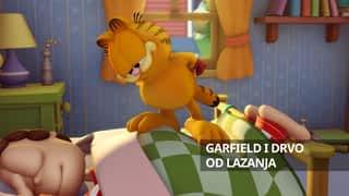 Garfield i drvo od lazanja