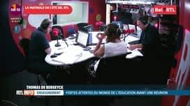 La matinale Bel RTL : RTL info 8h. du 14 août