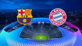 Champions League : 14/08 : FC Barcelone - Bayern Munich