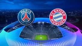 Champions League : 23/08: PSG - Bayern Munich