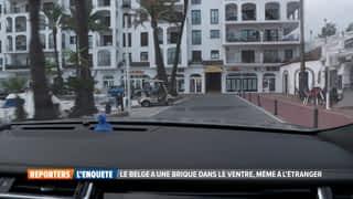 Le Belge a une brique dans le ventre même à l'étranger