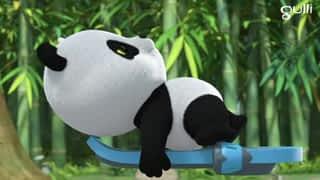 De la glace pour le panda géant