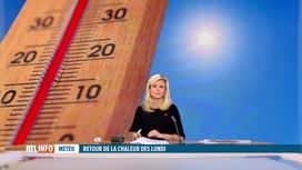 RTL INFO 19H : Météo : un pic de chaleur attendu pour la semaine prochaine