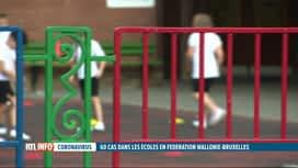 RTL INFO 19H : Coronavirus : une classe de 5ème primaire fermée à Ciney