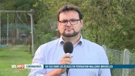 RTL INFO 19H : Coronavirus : Christophe Cocu revient sur les congés parentaux