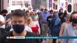 RTL INFO 19H : Coronavirus: comment réduire la mise en quarantaine en toute sécurité?