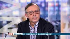 RTL INFO 19H : Coronavirus : Yves Van Laethem est l'invité du RTLInfo 19H