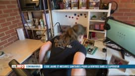 RTL INFO 19H : Voici comment respecter les règles sanitaires dans les kots pour ét...