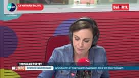 RTL INFO sur Bel RTL : RTL Info 8h du 14/09