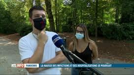 RTL INFO 19H : Coronavirus: la bulle de 5, la mesure divise toujours autant les Be...