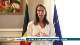 RTL INFO 19H : Coronavirus: rappel à l'ordre de Sophie Wilmès à propos des règles ...