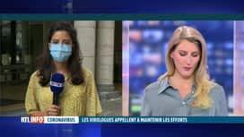 RTL INFO 13H : Coronavirus: Halima Moane Sahli est en direct du centre de crise