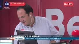 RTL INFO sur Bel RTL : RTL Info 13h du 16/09