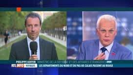 RTL INFO 19H : Nord et Pas-de-Calais en zone rouge: l'éclairage du ministre...