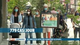 RTL INFO 19H : Coronavirus: les contaminations doublent tous les 12 jours en Belgique