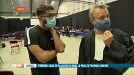 RTL INFO 19H : Procès Hakimi et Pauwels: les avocats de la défense demandent l'aba...