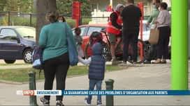 RTL INFO 19H : Fermeture des écoles : les parents démunis sans les congés corona