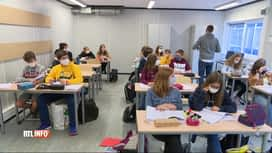 RTL INFO 19H : Coronavirus: combien d'élèves sont actuellement en quarantaine ?