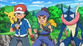 Pokemon : S18E04 Un défi digne d'un ninja !
