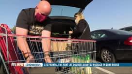 RTL INFO 13H : Coronavirus: plusieurs départements français passent en zone rouge
