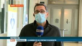 RTL INFO 13H : Coronavirus: l'analyse des statistiques quotidiennes