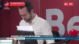 RTL INFO sur Bel RTL : RTL Info 13h du 18/09