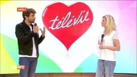 """RTL INFO 19H : Télévie: Caroline Fontenoy donne le """"top départ"""" des dons"""