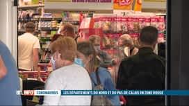 RTL INFO 19H : Coronavirus: plusieurs départements français passent en zone rouge