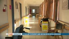 RTL INFO 13H : Coronavirus: la moitié des résidents d'une maison de repos positifs...
