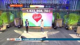 RTL INFO 19H : 32e Télévie: Jean-Michel Zecca et Agustin Galiana sont en direct
