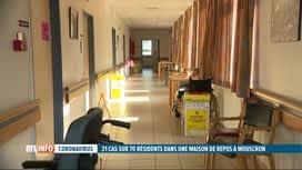RTL INFO 19H : Coronavirus: la moitié des résidents d'une maison de repos positifs...