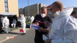 RTL INFO 13H : Coronavirus: une maison de repos de Mouscron déménagée ce matin