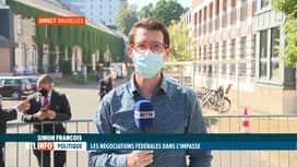RTL INFO 13H : Formation fédérale: le sp.a ne veut plus négocier avec le MR