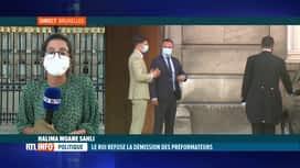 RTL INFO 19H : Formation fédérale: dernières infos depuis le palais royal