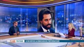 "RTL INFO 19H : Formation fédérale: analyse de Dave Sinardet sur le ""style Bouchez"""