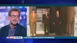 RTL INFO 19H : Formation fédérale: éclairage sur le blocage avec Dave Sinardet