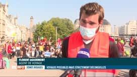 RTL INFO 13H : Le tourisme concerné de près par la fin de l'interdiction de voyage...